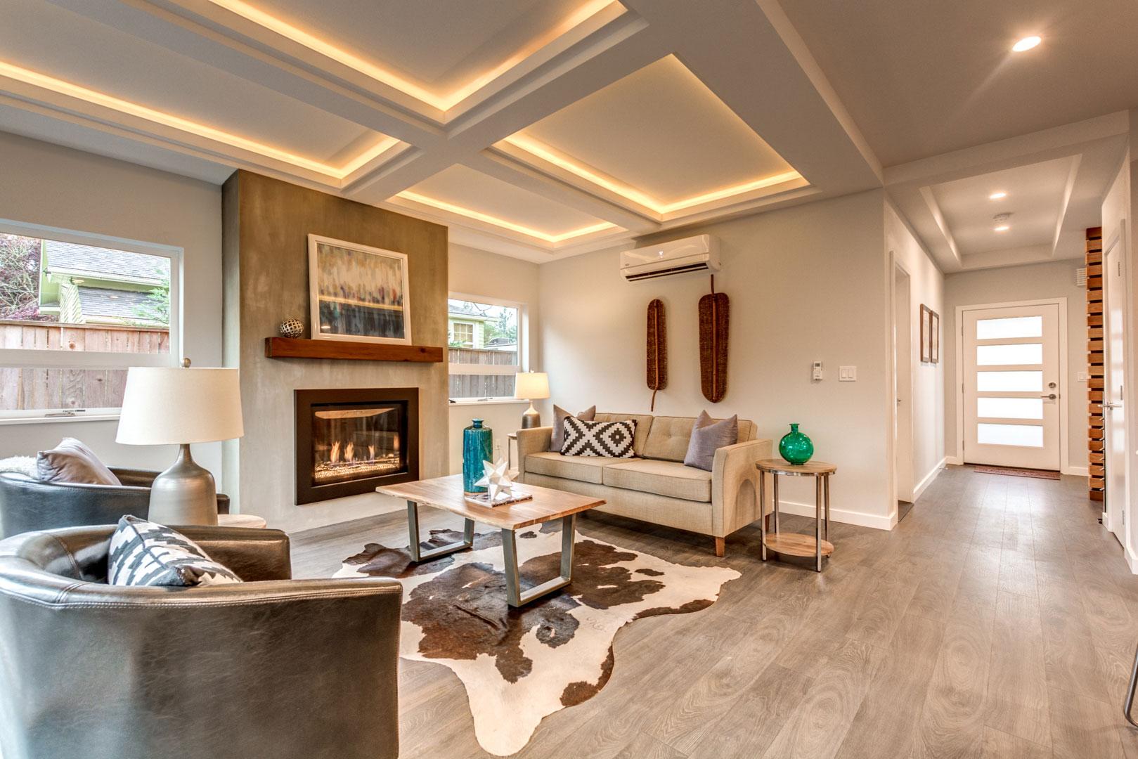 Montavilla Living Room Remodel, Living Room Remodel